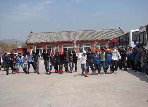 野外踏青活动在风景秀丽的龙门崮风景区盛大举行