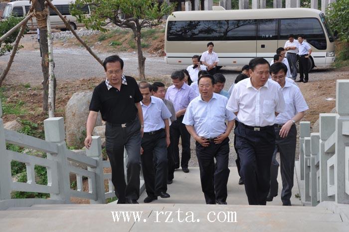省调研组来五莲县调研查看旅游业发展情况
