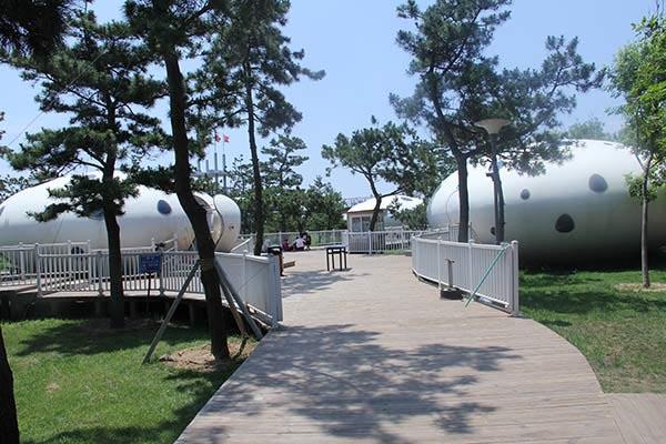 梦幻海滩公园开通景区二维码电子门票
