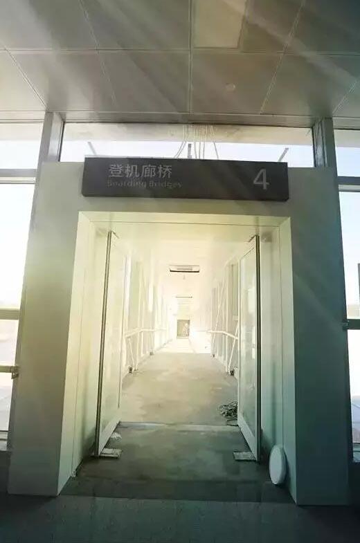 候机厅,登机口,机场内部真的是敞亮啊!堪比青岛机场有没有!